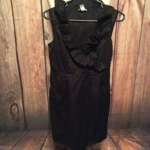 Ann Taylor Loft dress, EUC, 4P, Black